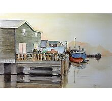 Fishing Boats in Peggy's Cove Photographic Print