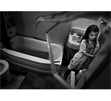 Condemned & Homeless Photographic Print