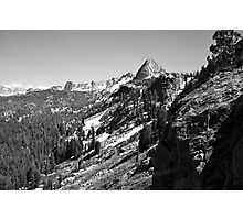 Upper Mammoth Lakes Basin Photographic Print