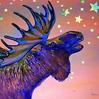 Once In A Blue Moose by JOSHUA STEVENS