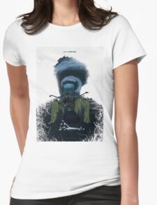 True Detective - Form And Void Womens Fitted T-Shirt
