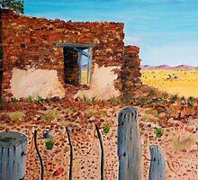 Goldfield Ruins by robert murray