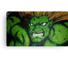 Blanka! Street Fighter Legend! Canvas Print