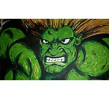 Blanka! Street Fighter Legend! Photographic Print
