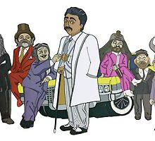 Morris Day and the Time Bandits by TeRaei