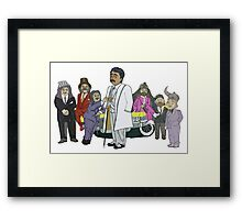 Morris Day and the Time Bandits Framed Print