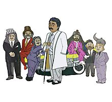 Morris Day and the Time Bandits Photographic Print