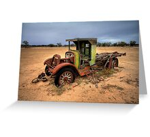 Jalopy Ute Greeting Card