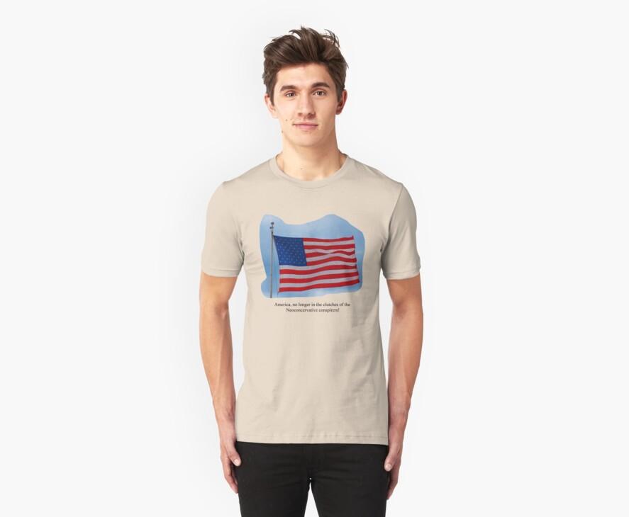 Anti Neocon Tshirt by Habenero