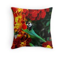 Making My Way To The Pollen....  Throw Pillow