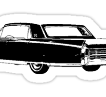 1963 Cadillac Fleetwood Sticker