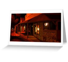 Nights in Mannum Greeting Card