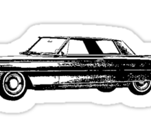 1963 Cadillac Coupe Sticker