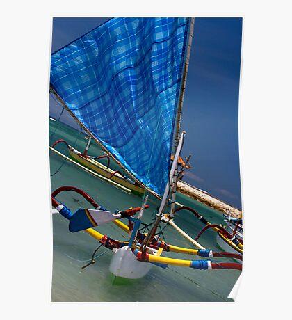 Blue Sail Poster