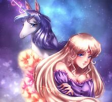 The last unicorn by axsen