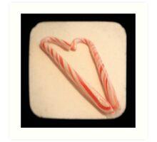 Striped Heart TTV Art Print