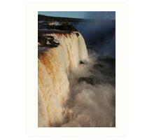 Iguazu Portrait Art Print