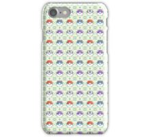 Pokeball Pattern iPhone Case/Skin