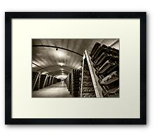 A Turn for the Best Framed Print