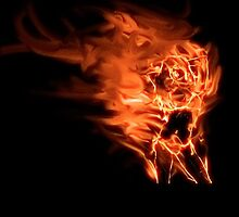 Girl on fire 2 by Tony Brown