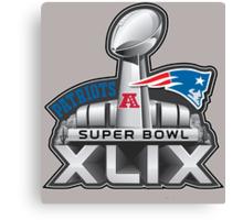 New England Patriots Superbowl 49 Champions Canvas Print