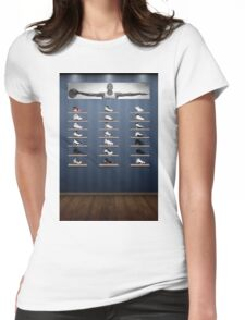 Air Jordan Legacy Poster Womens Fitted T-Shirt