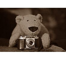 TC is a photographer too Photographic Print
