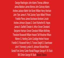 "U.S Presidents ""In White 'N Black"" by SecondSightFoto"