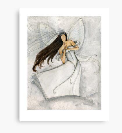 Angel Bride Canvas Print