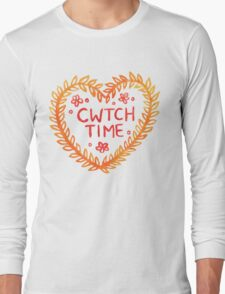 Cwtch time! Long Sleeve T-Shirt
