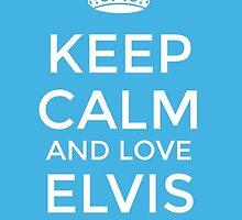 Elvis Presley by nadeneelali