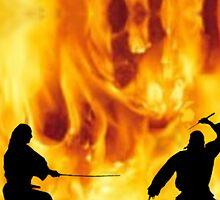 Fire Dancers - (Inspired by Lightcrafter) by Kevyn Paul Eisenman