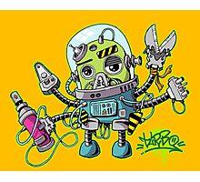 Graffiti robot Photographic Print