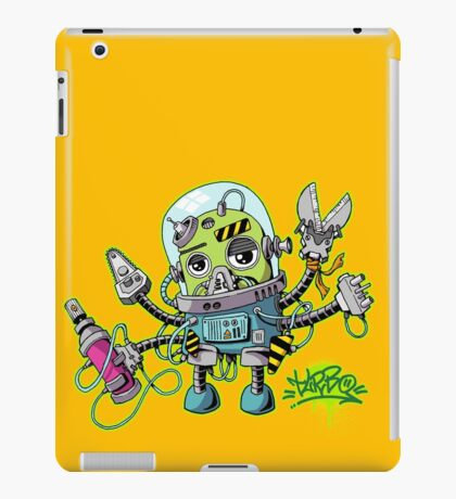 Graffiti robot iPad Case/Skin