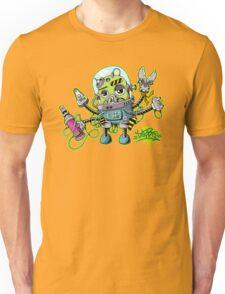 Graffiti robot Unisex T-Shirt