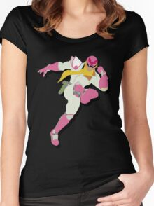 Fabulous Captain Falcon Women's Fitted Scoop T-Shirt
