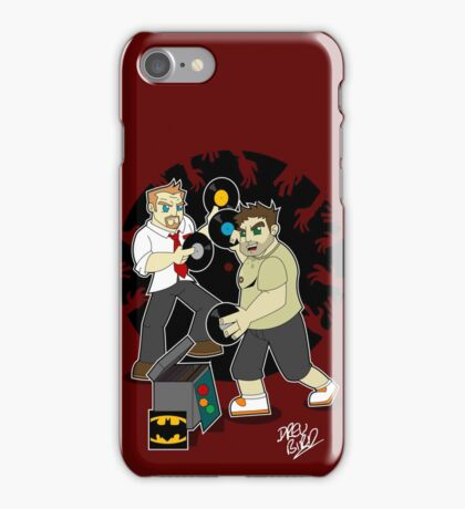 Shaun and Ed's Greatest Hits iPhone Case/Skin