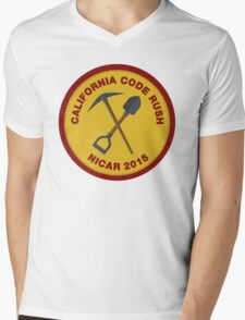 California Code Rush: NICAR 2015 Mens V-Neck T-Shirt