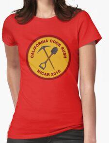 California Code Rush: NICAR 2015 Womens Fitted T-Shirt