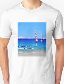 Sail Away by Jolene Ejmont Unisex T-Shirt