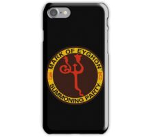 Mark of Eyghon Summoning Party iPhone Case/Skin