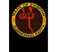 Mark of Eyghon Summoning Party Photographic Print