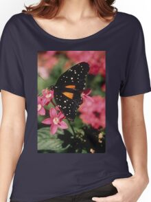 Janius Patch Butterfly Women's Relaxed Fit T-Shirt