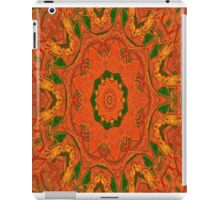 Red Sun Spire iPad Case/Skin
