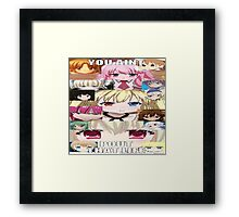 Check my mixta....I mean facebook page fam Framed Print