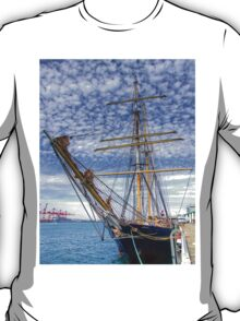 The Port of Fremantle WA - HDR T-Shirt