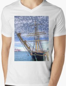 The Port of Fremantle WA - HDR Mens V-Neck T-Shirt