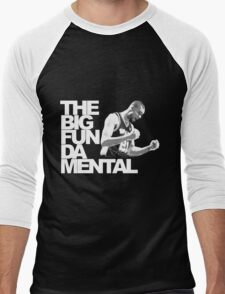 The Big Fun DA Mental Men's Baseball ¾ T-Shirt