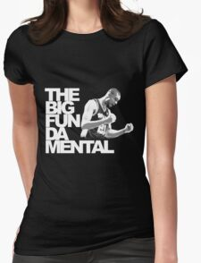 The Big Fun DA Mental Womens Fitted T-Shirt