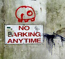 No Barking by Kurt  Tutschek